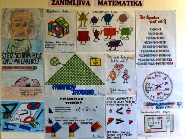 """Izložba """"Zanimljiva matematika"""""""