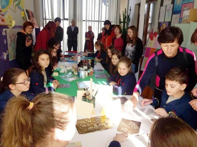 Studijska posjeta prijateljske škole iz Slovenije