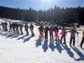 Škola skijanja za šeste razrede